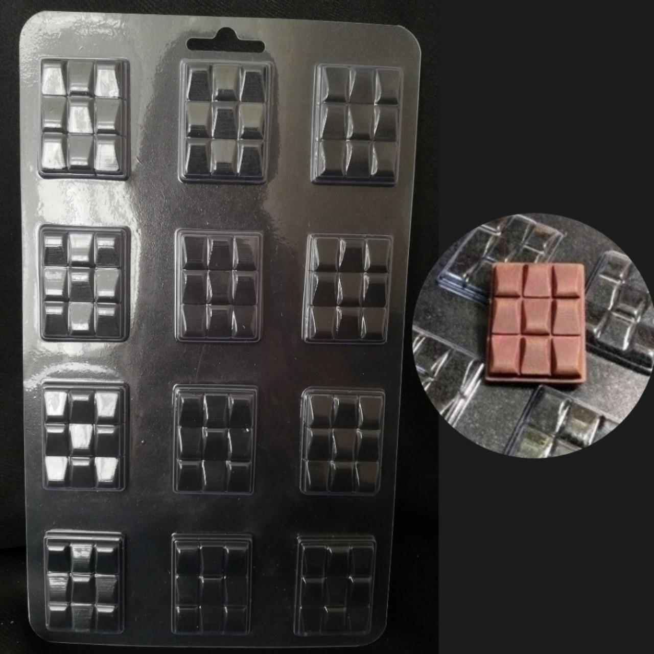 """Форма для шоколаду """"Плитка міні №2"""""""