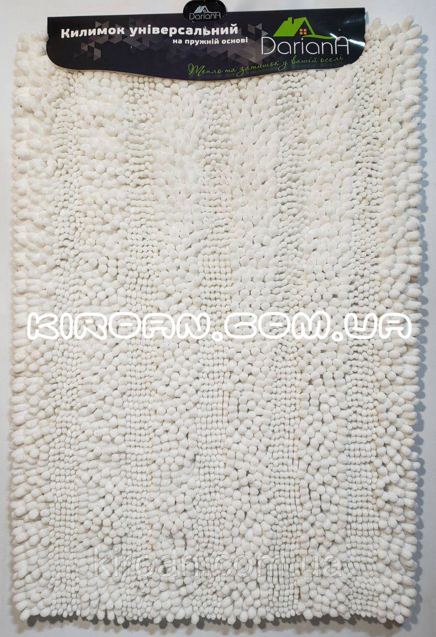 Коврик в ванную комнату Махрамат (Белый) 50х80 см
