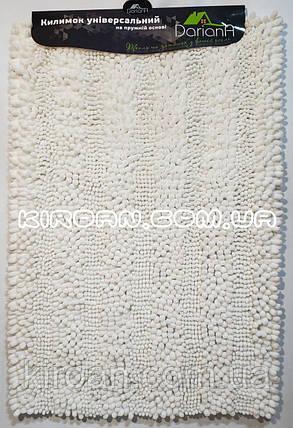 Коврик в ванную комнату Махрамат (Белый) 50х80 см, фото 2