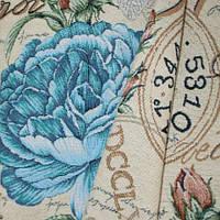 Декор форум роза голубой