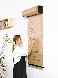 Доски-меню для кафе с рулонной бумагой