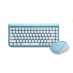 Комплект Беспроводная игровая клавиатура и мышь Remax XII-MK801 Blue