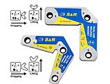 Набор сварочных магнитов S&R 2 шт, фото 4