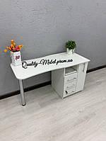 Белый складной стол для маникюра