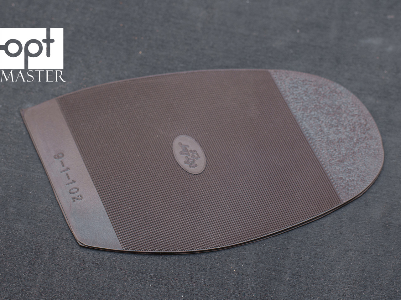 Подметка резиновая LONG LIFE (Китай), р.H2, цв. коричневый, т.2.5 мм