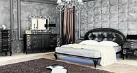 Спальня Пиония Черное Серебро