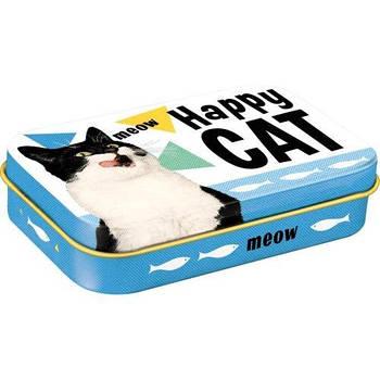 Коробочка для корма животных Nostalgic-Art Happy Cat (82204)