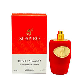 Тестер женский Sospiro Perfumes Rosso Afgano, 100 мл