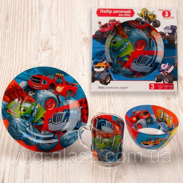 Набор детской посуды для мальчиков