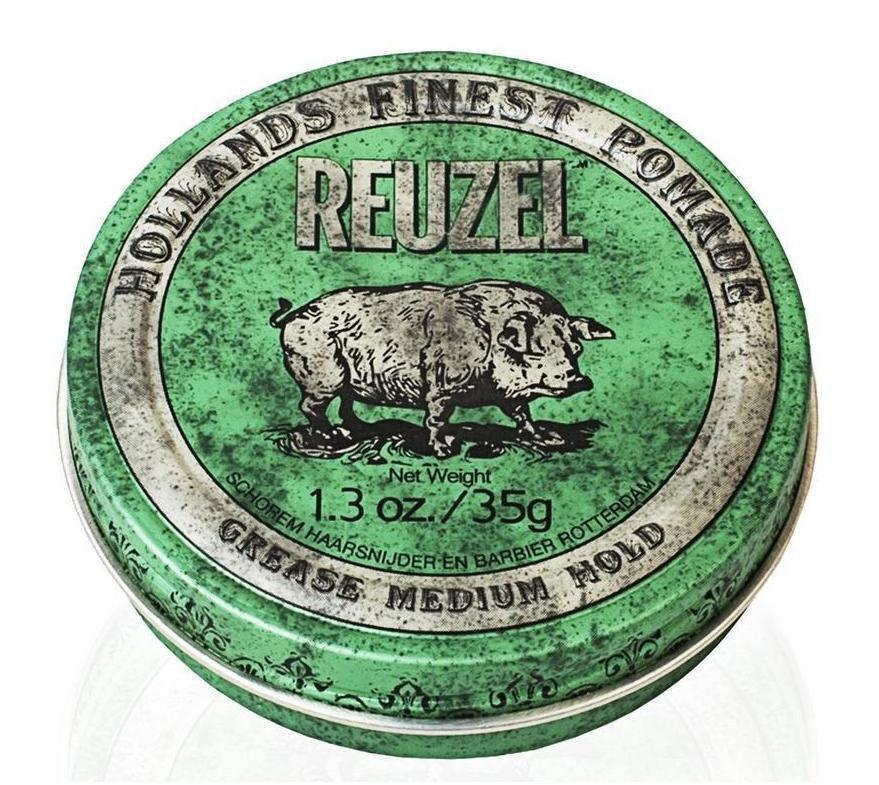 Помада для укладки волос Reuzel green grease