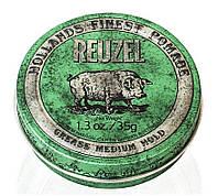 Помада для укладки волос Reuzel green grease, фото 1