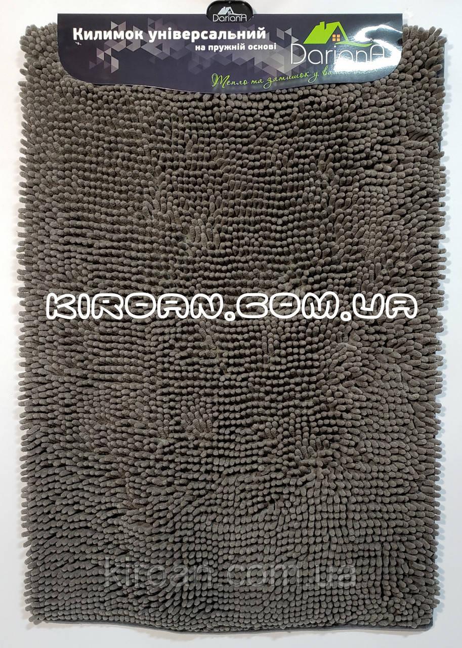 Коврик в ванную комнату Махрамат (серый) 50х80 см