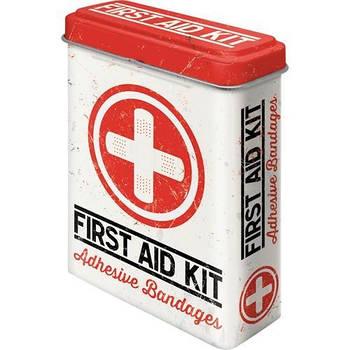 Коробка для пластыря Nostalgic-Art First Aid Kit (86103)