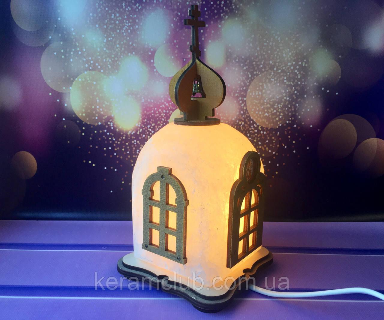 Соляной светильник Церковь 23*12*12 см