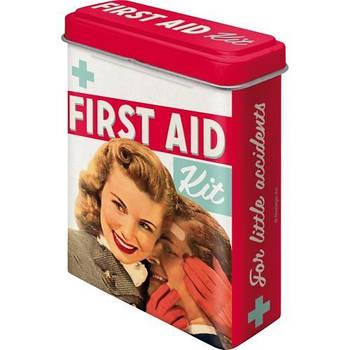Коробка для пластыря Nostalgic-Art First Aid Kit (86104)