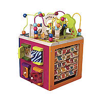 Battat - Развивающая деревянная игрушка - ЗОО-КУБ, фото 1