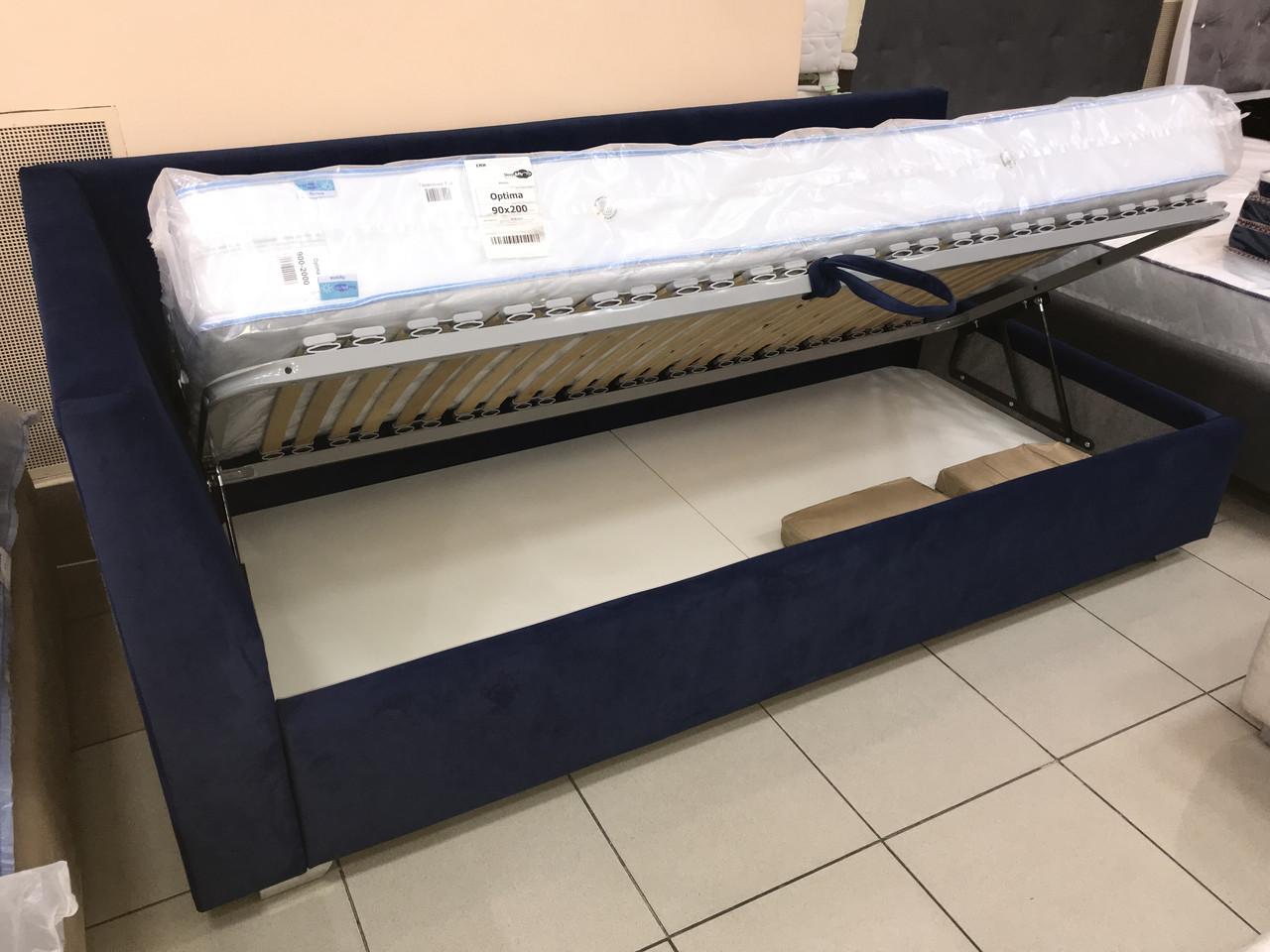"""Кровать """"Домовенок-АРТ"""" модель Corner Bed 90х200 (подъемный мех)"""