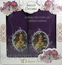 Полотенца для женщин, подарочный набор, Sweet Drems
