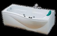 Гидромассажная ванна CRW CCW-1700-2R правосторонняя, 1700х880х570 мм