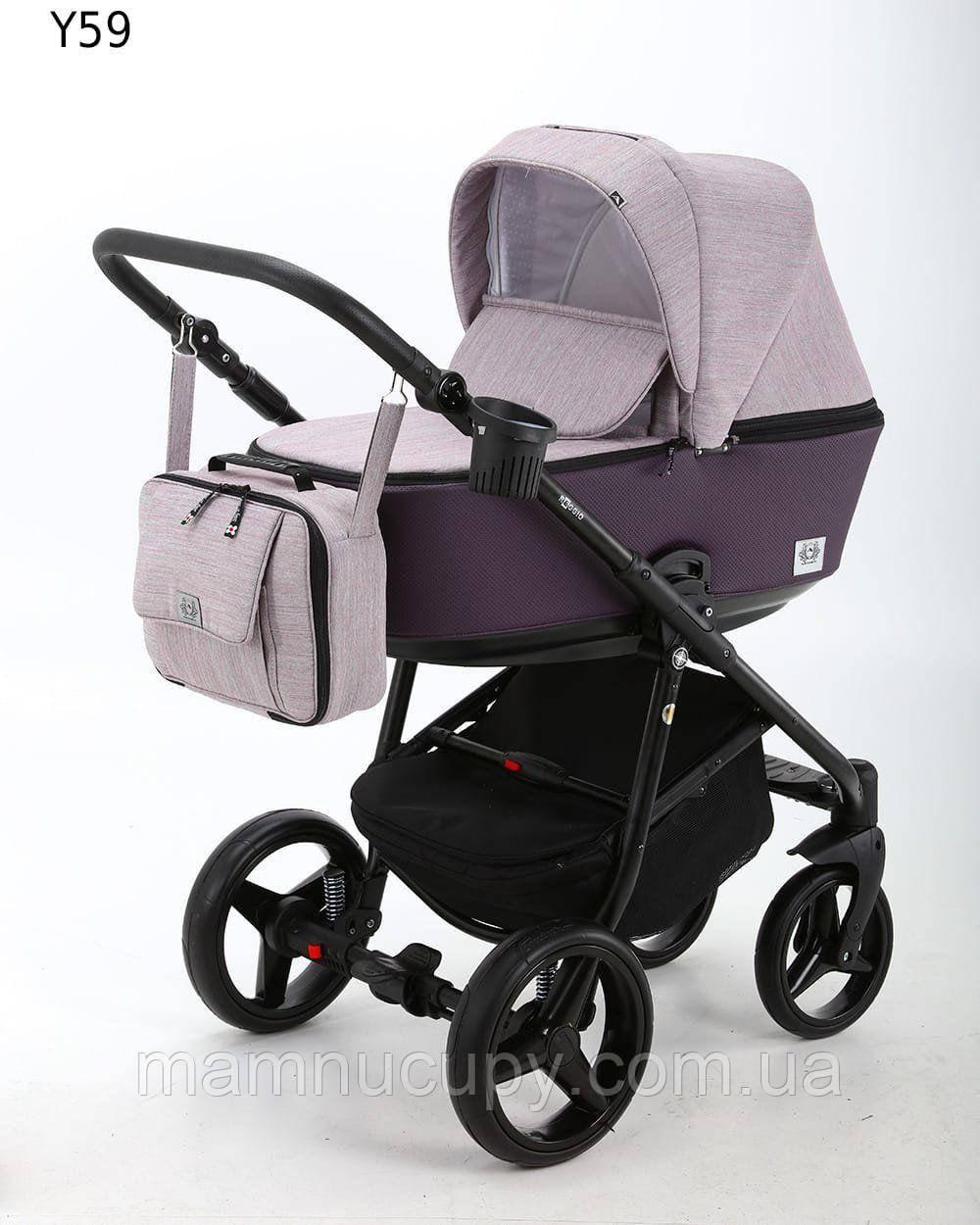 Детская универсальная коляска 2 в 1 Adamex Reggio Y59 (адамекс реджио)