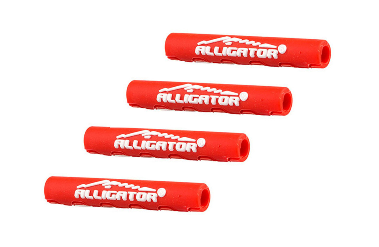 Защита рамы от трения рубашек, Alligator, 4 мм, красная