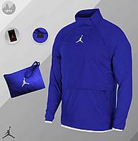 Ветровка  Анорак Jordan blue / куртка осенне-весенняя