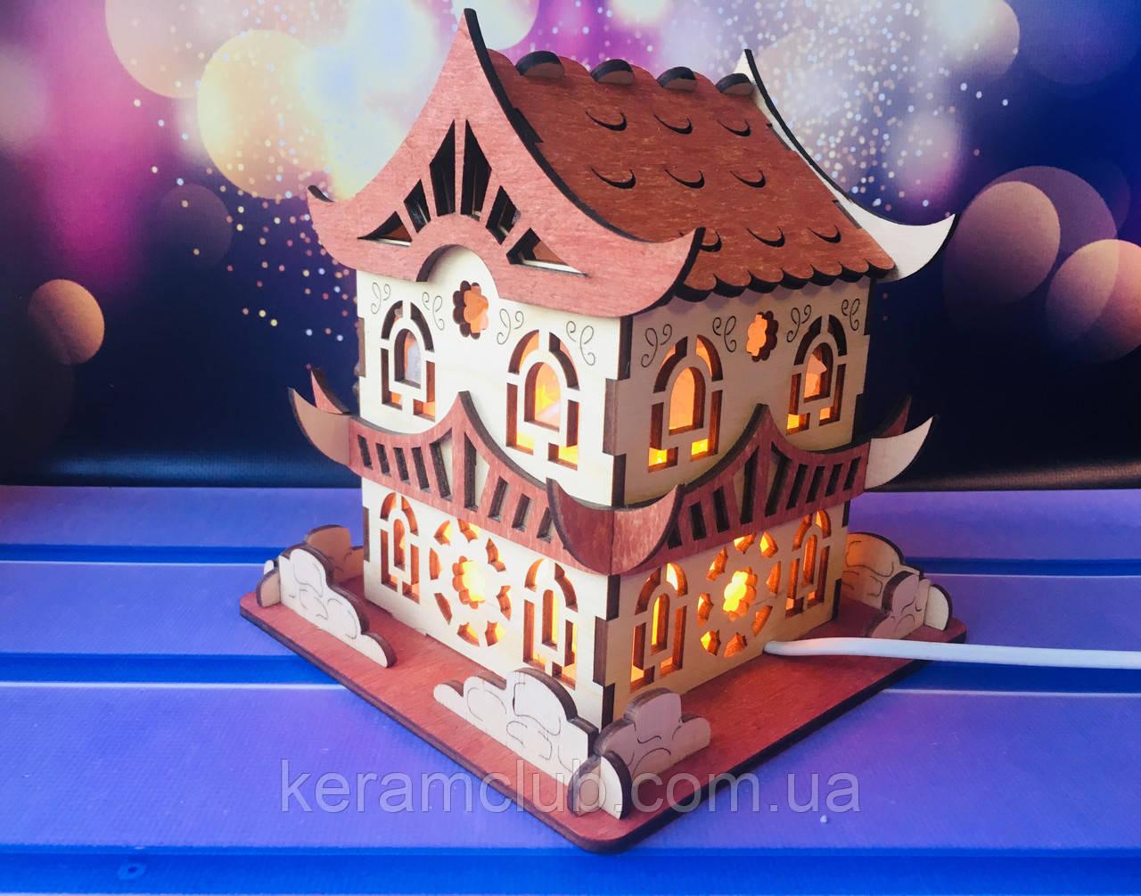 Соляной светильник Царский дом 17*17*18 см