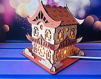 Соляной светильник Царский дом 17*17*18 см, фото 1