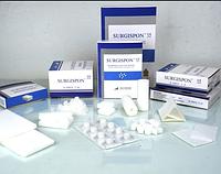 Губка гемостатична хірургічна стерильна желатинова SURGISPON®, СТАНДАРТ, 80x50x10мм