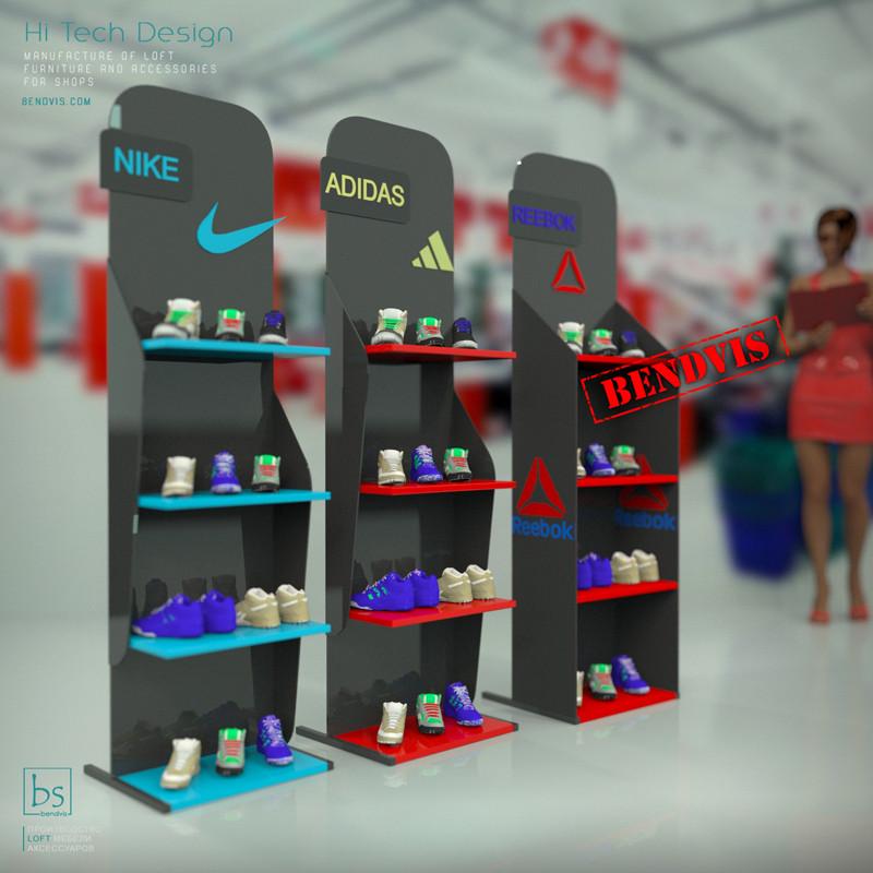 Торговые стойки для магазинов и супермаркетов на заказ