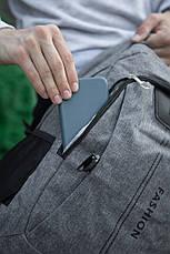 Рюкзак Фешн сірого кольору, фото 3