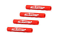 Защита рамы от трения рубашек, Alligator, 5 мм, красная