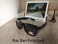 Солнцезащитные очки с поляризацией Ray Ban Wayfarer - глянцевая оправа