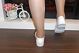 Балетки женские белые Т340, фото 7
