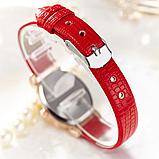 Наручные часы женские с розовым ремешком код 291, фото 3