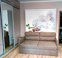 """Шкаф кровать с диваном """"Орхидея"""""""