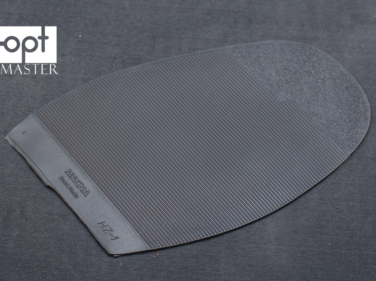 Подметка резиновая MAGNA (Китай), р.H2, цв. черный, т.2.2 мм