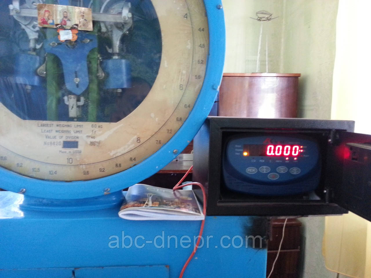 Модернизация механических 30т весов в 40т электромеханические
