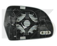 Вкладыш зеркала левый обогреваемый Skoda Octavia с 2009 гв. ( Шкода Октавиа )