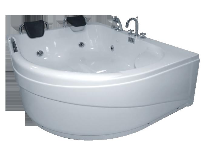 Гидромассажная ванна CRW CZI-24L левосторонняя, 1780х1300х670 мм