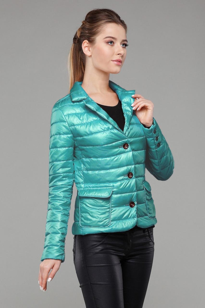 Женская короткая молодежная куртка Дикси р-ры 42,44,48