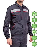 Костюм куртка +полукомб. Профи. тк. гарда, фото 1