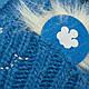 Детский комплект - шапка и шарф (хомут) для мальчика, р. 44-46, фото 5