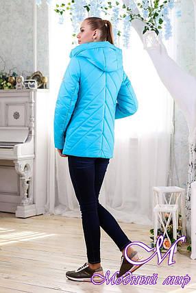 Женская демисезонная куртка (р. 44-58) арт. 1091 Тон 35, фото 2