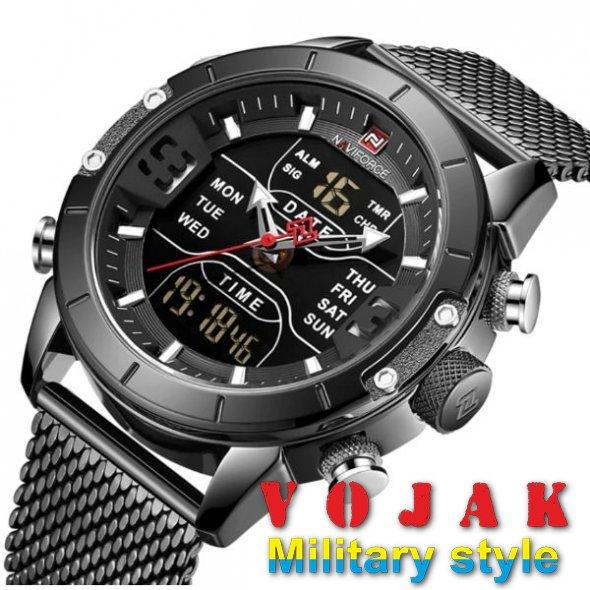 Часы Naviforce Tesla Black NF9153