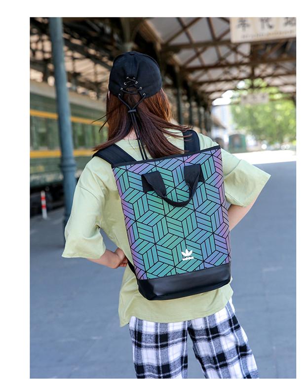 Рюкзак хамелеон Adidas Issey Miyake Backpack 3D Roll Top