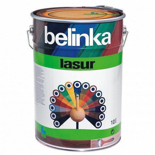 Тонкослойная лазурь для дерева BELINKA LASUR (махагон) 10 л