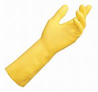"""Перчатки резиновые light, желтого цвета, размер 8 """"L"""""""