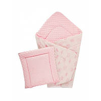 Набор Dotinem плед 75х100 см + подушка плюшевая детская Minky 35х35 см