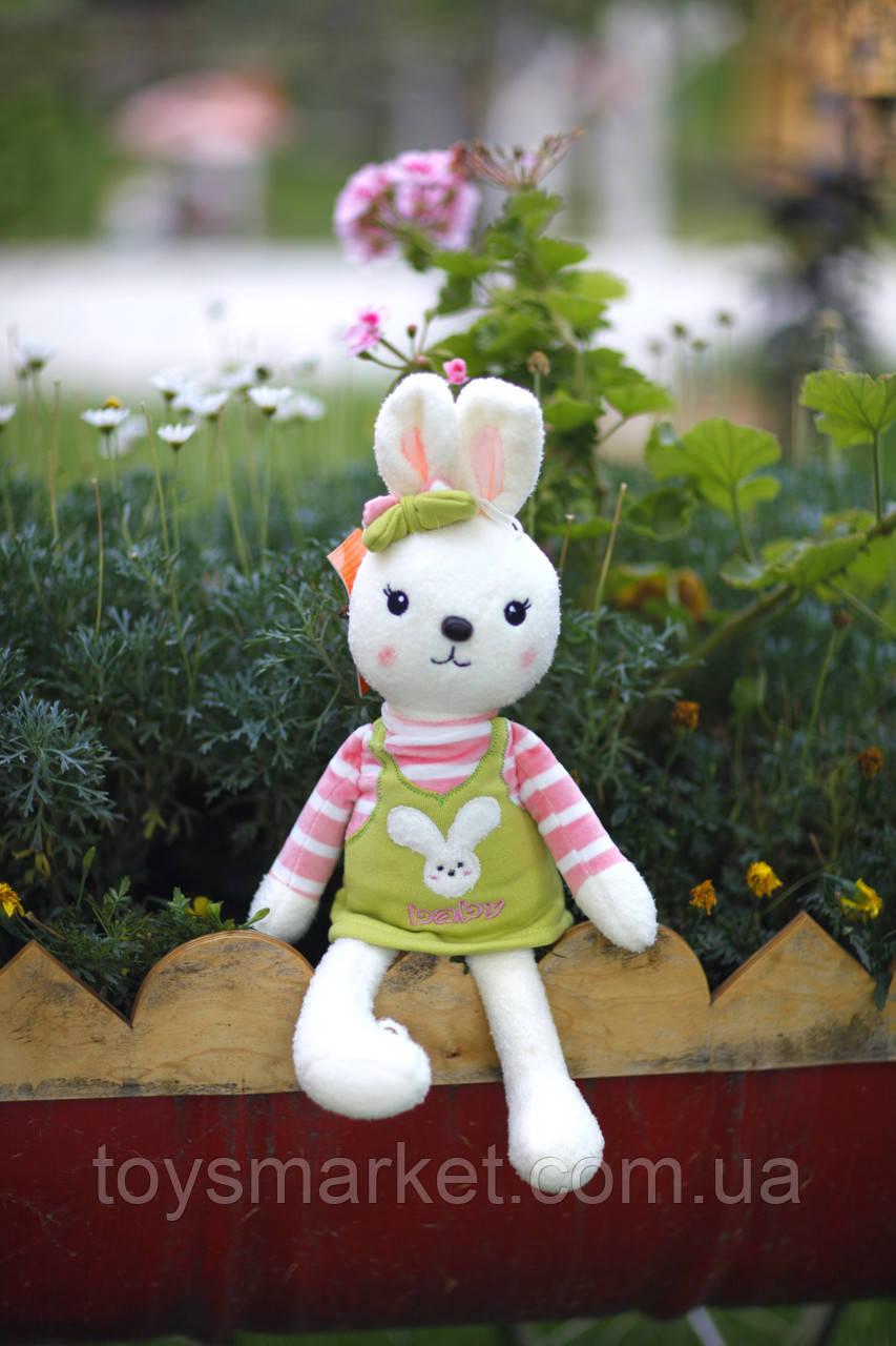 """Мягкая игрушка зайка """"Лунита"""", плюшевый заяц"""
